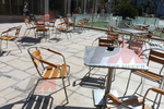 Алуминиеви маси за кафенета за градината