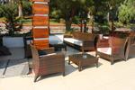 мебели от ратан за външно ползване