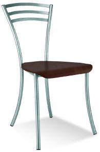 Кафе стол MOLINO wood chrome