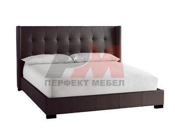 Тапицирано легло с еко кожа или дамаска по поръчка