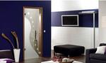 модернистични  луксозни стъклени врати