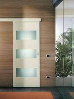 приятни  плъзгащи интериорни врати със стъкло