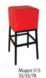 Червен бар стол 18218-1682
