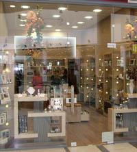 Интериорен дизайн на магазин за козметика