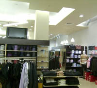 Интериор на магазини за дрехи