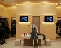 Интериорен дизайн на магазин за дрехи