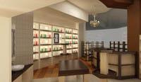 Интериор на магазин за козметика