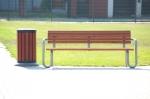 метална пейка