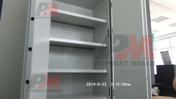 Метални шкафове за документи, за зъболекарски кабинет