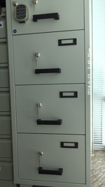 Огнеупорни картотеки, за лекарски кабинет