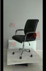 комфортни естественна кожа офис столове